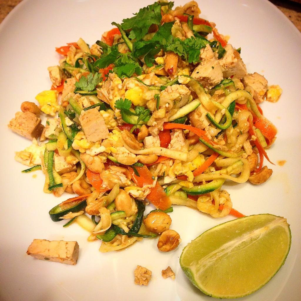 Zucchini & Carrot Pad Thai