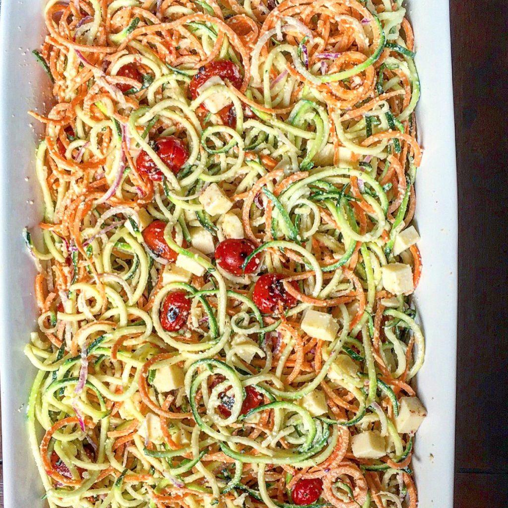 Zoodle Poodle Pasta Salad 2
