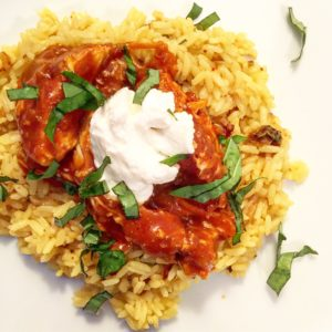 Crockpot Indian Butter Chicken