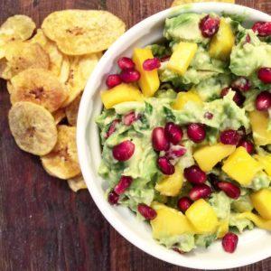 Mango-Pom Guacamole