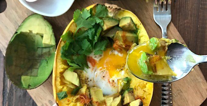 Egg + Avocado Baskets