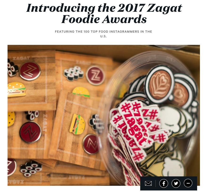Zagat Awards