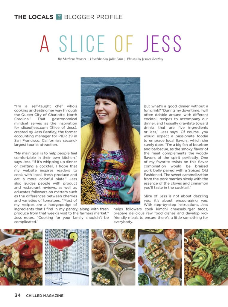 Slice Of Jess - Chilled Magazine