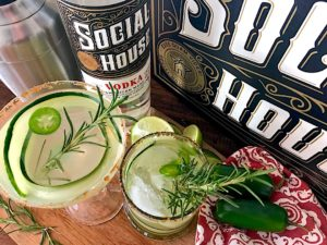 Cool Fall Breeze Vodka Gimlet