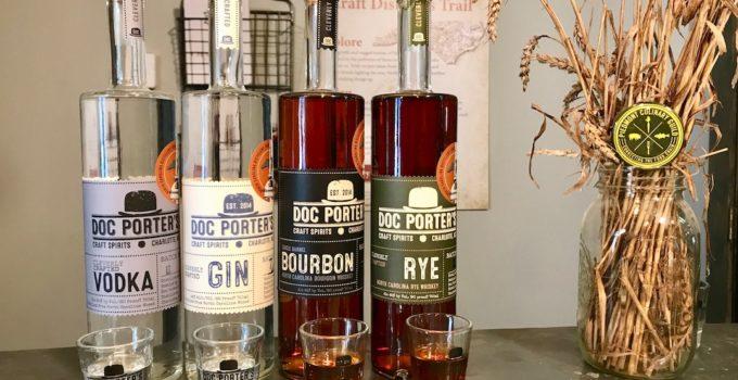 Doc Porter's: A Sneak Peak Inside Charlotte's Premier Craft Distillery