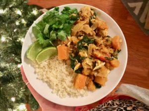 Whole30 Butternut Squash Chicken Curry Recipe