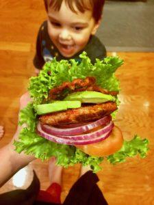 Whole30 Recipes: The Ultimate B.L.A.T Burger