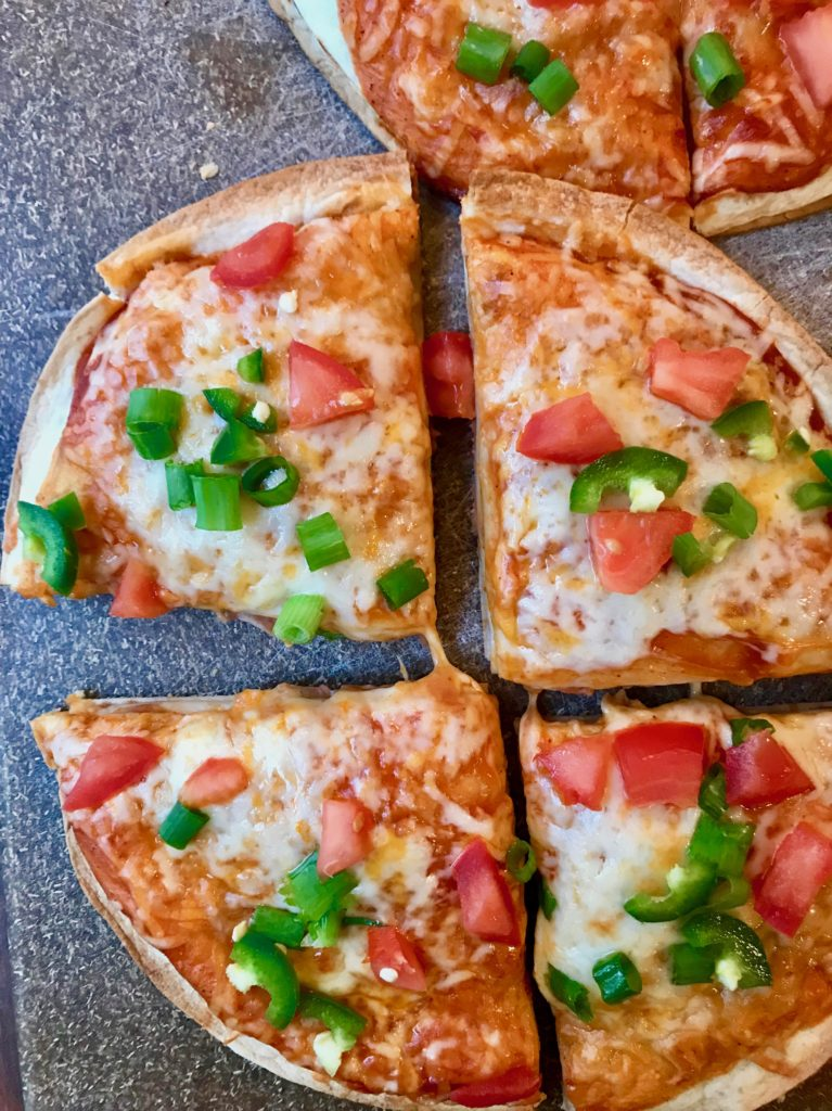 Quick dinner recipes mexican pizza slice of jess quick dinner recipes forumfinder Images