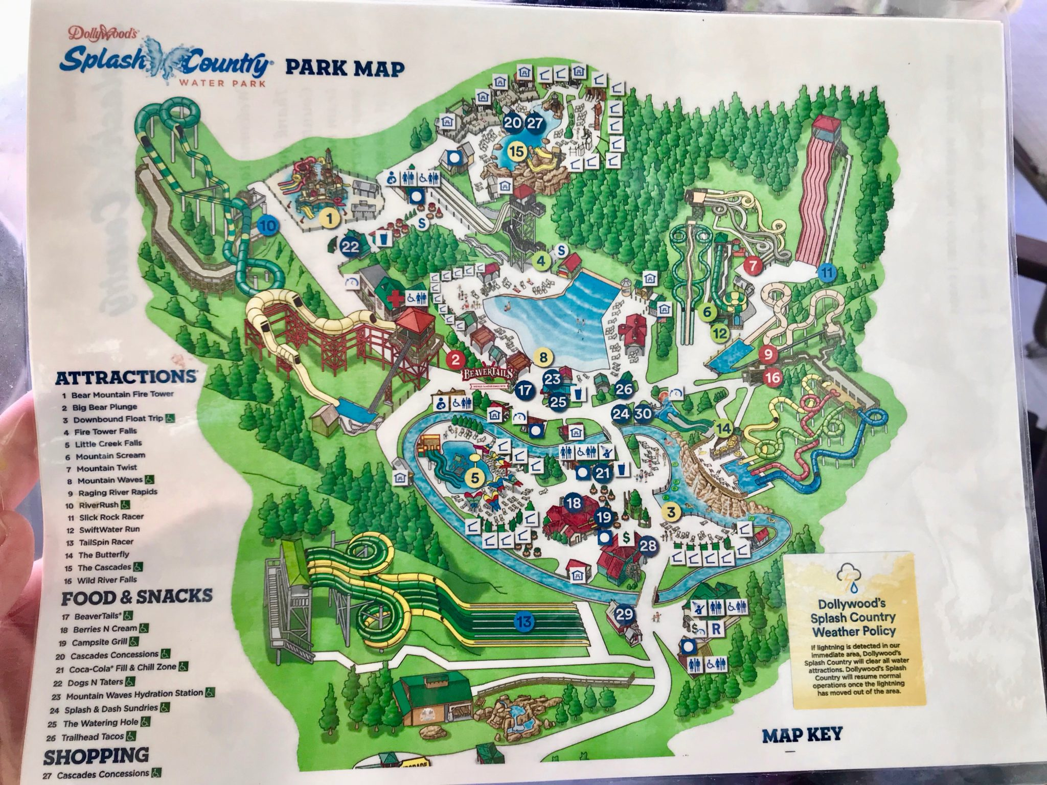 A Foodie's Guide To Dollywood Family Amut Park - Slice of Jess on
